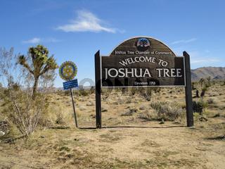 Joshua tree National Park Eingang