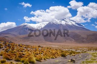 Altiplano mountains in sud Lipez reserva, Bolivia