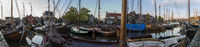Panorama Harbor Bunschoten Spakenburg