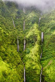 Wasserfälle auf Kauai