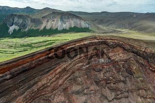 Caldera volcano Ksudach. South Kamchatka Nature Park.