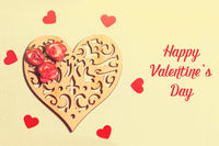 Lovely card for Valentine's day