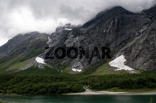 Trollwand im Romsdal, Norwegen