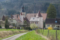 Castle Braunsbach in the Kocher Valley, Germany