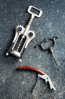 Various types of corkscrews.