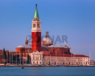 San Giorgio Maggiore Church in the Morning, Venice, Italy