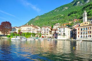der Ort Lenno bei Tremezzo am Comersee,Lombardei,Italien