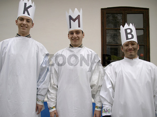 Tradition, drei Könige