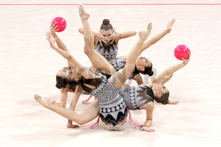 Team Bulgaria Rhythmic Gymnastics