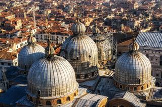 Saint Mark Basilica view