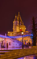 Fisherman Bastion in Budapest Hungary