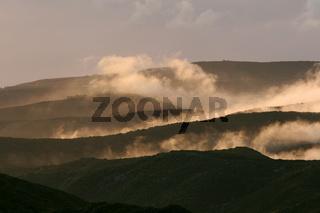 Nationalpark Garajonay mit Passatwolken