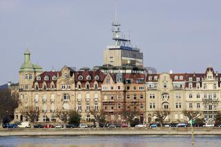 Gebäude an der Seestraße Konstanz