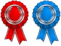 Award arms and ribbons