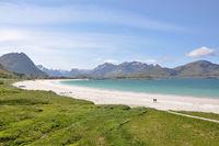 Beach at Lofoten islands
