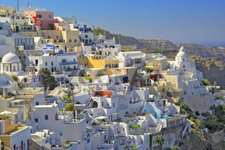 Thera Capital Of Santorini