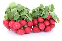Radieschen rot Gemüse Freisteller freigestellt isoliert