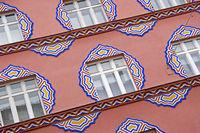 Detail of a house in Ljubljana
