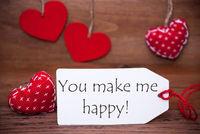 Read Hearts, Label, Quote You Make Me Happy