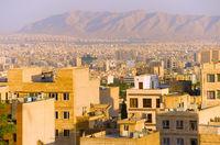 Tehran residential buildings, skyline. Iran