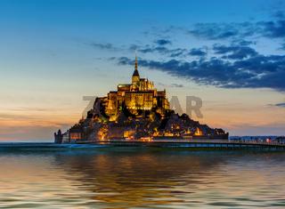 Mont Saint Michel Abbey - Normandy France