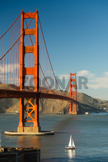 Golden Gate Bridge Fort Point San Francisco Bay California