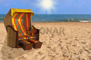 Ostseestrandkorb | Baltic Sea beach chair