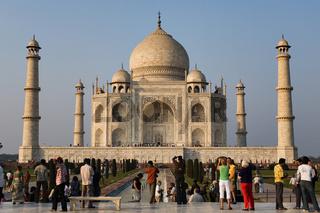 Taj Mahal, Agra, Nordindien, Indien, Asien - Taj Mahal, Agra, North India, India, Asia