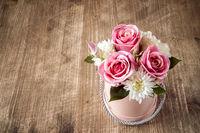 Decoration artificial flowers