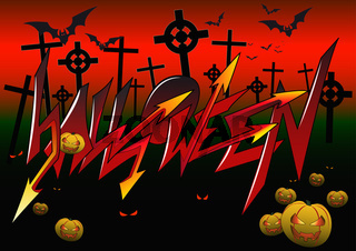 Graffiti Halloween