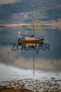 Boat on the Loch