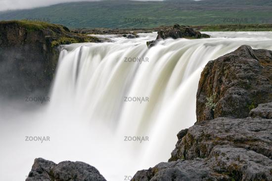 Godafoss, waterfall, Iceland