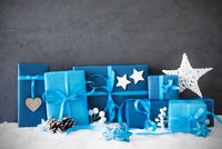Christmas Gifts, Snow, Copy Space