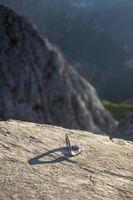 Kletterhaken in den deutschen Alpen