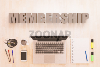 Membership text concept