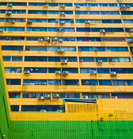 Air conditioners at the skyscraper
