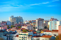 Lisbon new districts architecture. Portugal