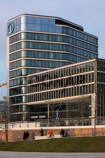 Deutschlandzentrale von Kühne + Nagel in der Hafencity in Hamburg