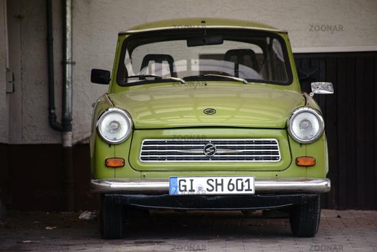 Vintage car Trabant