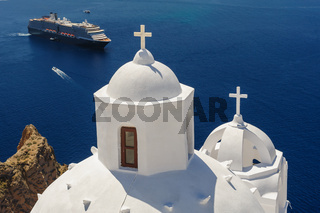 Church in Fira, Santorini