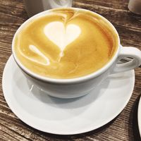 A Heart in my coffee
