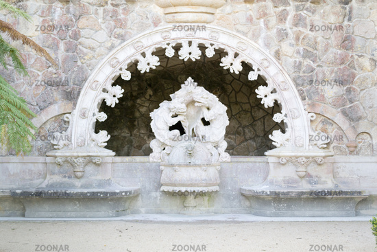 Portal of the Guardians at Quinta de Regaleira