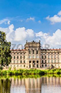 Historisches Schloss in Ludwigslust, Mecklenburg-Vorpommern