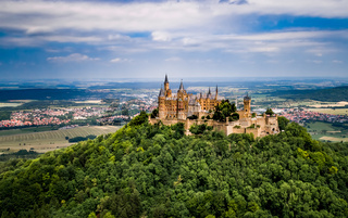 Hohenzollern Castle, Germany.