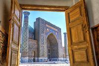 Sher-Dor Madrasah, Samarkand Registan, Uzbekistan