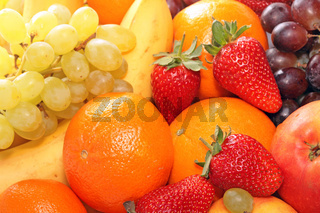 Reife Früchte.