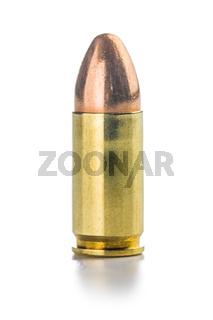 9mm pistol bullet.