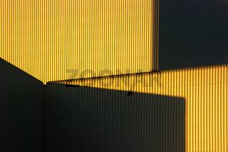 Goldene Fassade