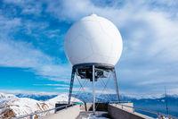 meteorological station of Monte Lema Switzerland