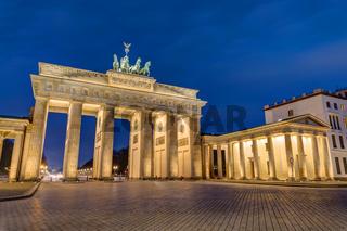 Das berühmte Brandenburger Tor in Berlin